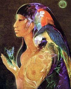 """Uarahiulu"" par Susan Seddon Boulet"