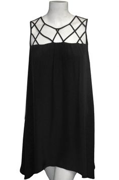 Elaina Cage Neck Dress