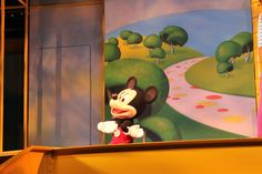 Disney Junior Live On Stage ~ Hollywood Studios!! Mickey Mouse Club House....come inside......