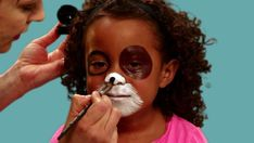 Turn a cute kid into a cute puppy with our Halloween makeup tutorial.