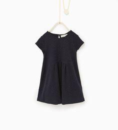 Image 1 de Robe à petits pois et nœud de Zara