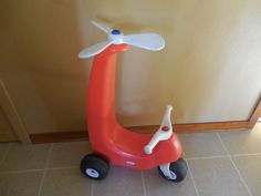 Rare Hard to Find Little Tikes Whirly Bird Ride On Helicopter  #LittleTikes  #LittleTikes #Helichopter #RideOnToy Super cool #RareLittleTikes toy. I have to admit... I am very tempted to buy this one...