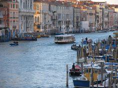 Canal Grande, Venice, Italy (photo Fernandes Baptista via VeneziaToday)