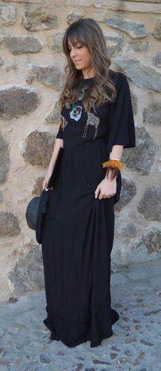 NWT ZARA Embroidered Beaded Animal Long Floaty Dress Maxi Size M Ref.7521/022 #ZARA #Maxi #Party