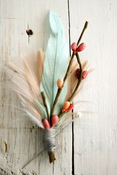 feathers in decor