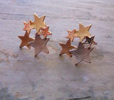 Check out our stud earrings selection for the very best in unique or custom, handmade pieces from our shops. Starburst Earrings, Gold Gold, Candle Holders, Stud Earrings, Gift Ideas, Friends, Rose, Silver, Gifts