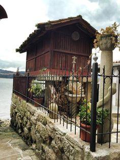 Combarro, Pontevedra, Galicia Cabin, House Styles, Home Decor, Decoration Home, Room Decor, Cabins, Cottage, Home Interior Design, Wooden Houses