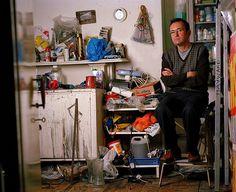 Artists In Their Studios - Tony Hayward by Oliver Eglin