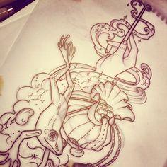 Done by Teresa Sharpe, tattooist at Studio 13 Tattoo (Fort Wayne, IN), USA TattooStage.com - Rate & review your tattoo artist. #tattoo #tattoos #ink