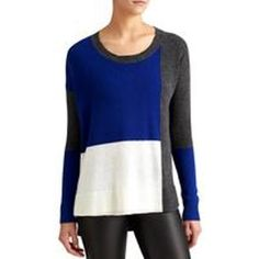 Block Luxe Cashmere Sweater