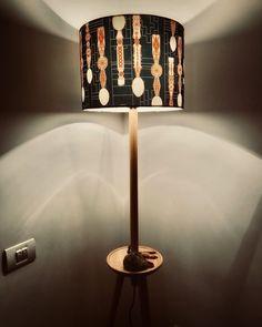 Hallway lighting with traditional romanian shade pattern Minimalist Apartment, Hallway Lighting, Romania, Table Lamp, Shades, Traditional, Living Room, Cool Stuff, Modern