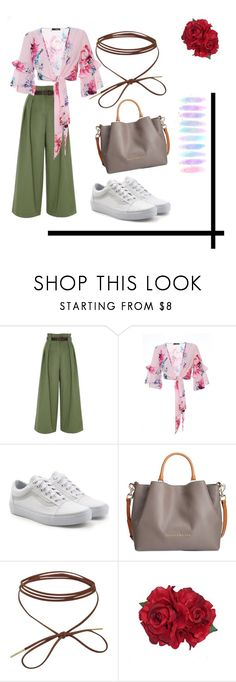 """""""Love, peace, SPRING!"""" by vilzak on Polyvore featuring River Island, Vans, Dooney & Bourke and Brush Strokes"""