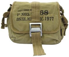 Army Vintage Bike Messenger Bag - Serbags.com