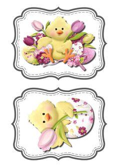 Easter Diy Ostern, Easter Printables, Baby Prints, Spring Crafts, Xmas Cards, Easter Crafts, Cardmaking, Illustrations, Scrapbooking