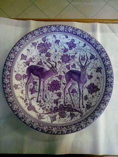 Ceramic Plates, Ceramic Art, Decorative Plates, Pattern And Decoration, Tile Art, Asian Art, Lotus, Pottery, Stamp