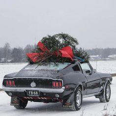 "Vintage Mustangs on Instagram: ""Happy Holidays! Car: 1️⃣9️⃣6️⃣8️⃣ Mustang Fastback Owner: @jamo64"" #mustangvintagecars"