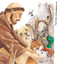 St. Francis of Assisi - guardian of the animals