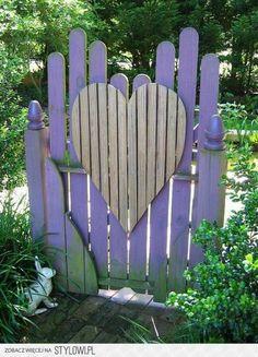 Heart Shaped Door!