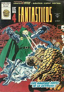 Tebeos, comics y otros sucedaneos en mis estanterias: Los 4 Fantasticos - Vertice v3 #32