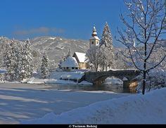 Bohinj, Slovenia - winter