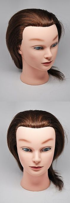 Hair And Makeup Mannequins Hairztar 100 Human 20 21 Mannequin Head Hairdresser Training M It Now Only 47 36 On Ebay