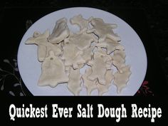 quickest ever salt dough recipe