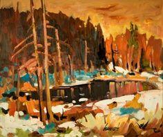Bruno Côté Canadian Painters, Bruno, Winter Art, Paintings, Art Prints, Landscape, Artist, Beauty, Landscapes