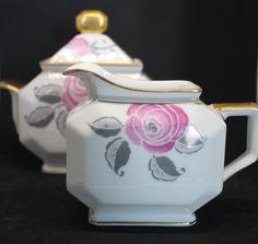 Service à thé vintage français Limoges rose par FrenchVintageHome