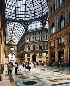 Been to this one! Amazing beauty. Galleria Umberto I, Naples, Italy
