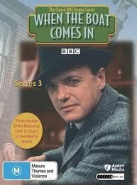 """""""When the boat comes in"""" James Bolam as sergeant Jack Ford. Takes place in Gallowshield, Tyneside, just after world war one. Another classic Northern drama"""