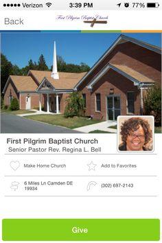 First Pilgrim Baptist Church in Camden, Delaware #GivelifyChurches