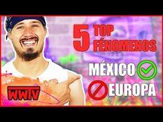 TOP 5 fenómenos de México que NO hay en Europa ?!  Curiosidades de México & Alemania  WeroWeroTV