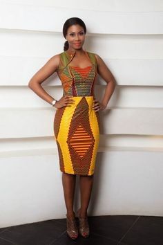 Africanprint ~African fashion, Ankara, kitenge, African women dresses, African p… African Fashion Ankara, Ghanaian Fashion, African Inspired Fashion, African Print Fashion, Africa Fashion, Fashion Prints, Men's Fashion, Nigerian Fashion, Fashion Styles