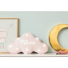 Idée cadeau de naissance - Veilleuse nuage paillettes roses personnalisable f7aed42dfa5