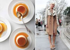 Who says food and fashion don't go together? Certainly not the foodies behind BonAppétitas they've invited Diana of Miss Moss to share her brilliant food and street style mash ups as part of a weekly serieson their blog. Major.