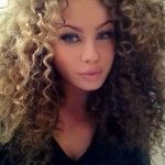 natural curly hair