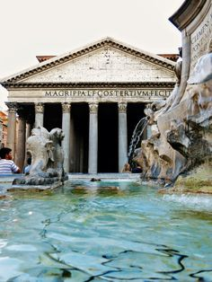 A million steps around Rome in one day by Wanderlust Storytellers. - The Pantheon