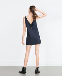 Image 3 of PINAFORE DRESS from Zara