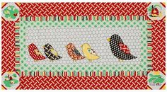 Quilt Inspiration: Free Pattern Day: Chickens