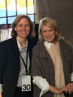 As CTO of the USA and an alumna of MIT, Megan Smith focuses on how technology can advance the future of our country. It was so interesting to talk with her.