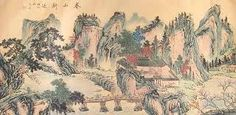 Image result for traditional chinese landscape painting