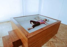 It's not a bed, it's a sleeping pit... and you need it in your life.