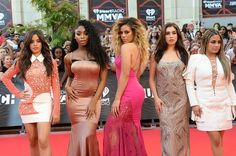 Fifth Harmony on the #MMVAs red carpet