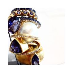 Dolly Boucoyannis' rings www.idconceptstores.com