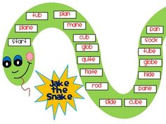 Freebie! This is an excellent game to play as an extension to a phonics lesson on magic e.