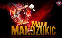 Mario Mandzukic Bayern Munchen HD Wallpaper