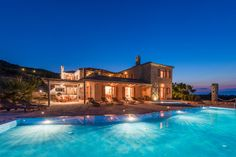 BLUE CAVES VILLAS Palace Villa - Traditional & Luxury Villas with private pool in Zakynthos island
