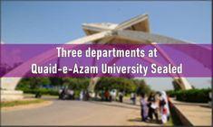 COVID-19: Quaid-e-Azam University Islamabad Sealed