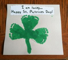 St Patricks Day kid projects