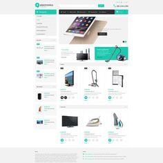 """Elektroninė parduotuvė """"Bootstrap OpenCart"""" šablonas """"Mažas ekrano vaizdas"""""""
